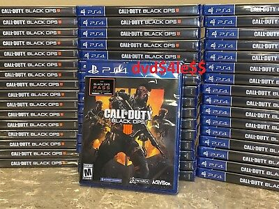 Call of Duty Black Ops 4 Sony PlayStation 4 PS4  BRAND NEW SEALED