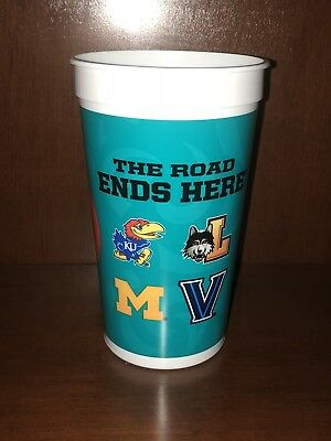 2018 NCAA Final Four Basketball Souvenir Cup March Madness Villanova Michigan