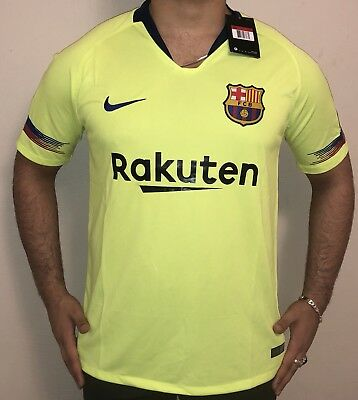 Authentic brand new FC Barcelona Messi 201819 Jersey size M Nike DRI-FIT