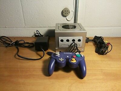 Nintendo GameCube Console Black Console System With 1 Official Controller