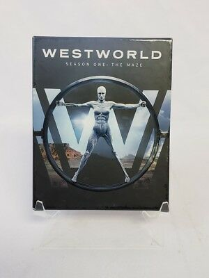 Westworld Season One The Maze 3-Disc Blu-ray