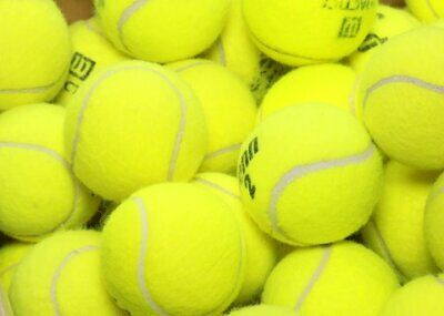 25 used tennis balls - Grade A - FREE N FAST SHIPPING - Support our Mission