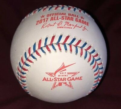 2017 ALL STAR GAME RAWLINGS OFFICIAL GAME BASEBALL ASGBB17 BRAND NEW
