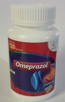 Omeprazole 20 mg 1 bottle 120 capsules total omeprazol 20 mg