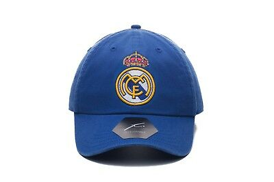REAL MADRID CLASSIC OFFICIALLY LICENSED BASEBALL HAT ADJUSTABLE Fi COLLECTION