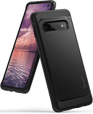 Samsung Galaxy S10 S10 Plus S10e Ringke Onyx Black TPU Shockproof Cover Case