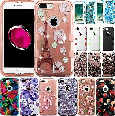For iPhone 6 iPhone 6S Case Mybat TUFF Hybrid Phone Cover Shockproof Drop-Tested
