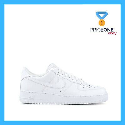 Nike Air Force One 07 Total White Bianco Shoes Scarpe Mens Uomo Donna  315122-11 fdfeb920640
