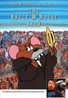 Paul McCartney - Wings - Bruce McMouse Show Live DVD Red Rose Speedway Archive