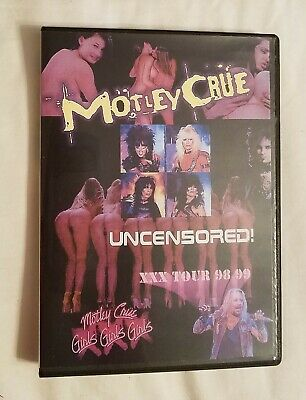 Motley Crue – Uncensored XXX Tour '98-'99 DVD NTSC NEWSEALED