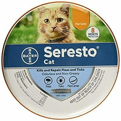Seresto Flea - Tick Collar for Cats  7-8 months protection