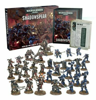 Warhammer 40k - Shadowspear Box Set - Brand New in Box Free Expedited Shipping