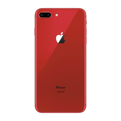 Apple iPhone 8 Plus PRODUCTRED GSM Unlocked 4G LTE iOS Smartphone - Acceptable