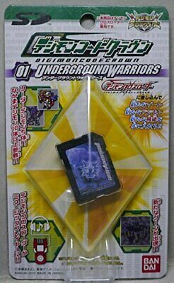 Digimon Fusion Digimon code crown 01  UNDERGROUND WARRIORS