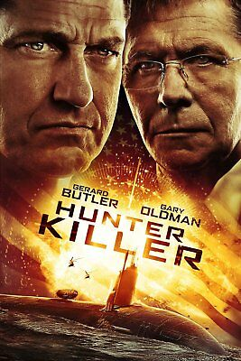 Hunter Killer 2918 DVD