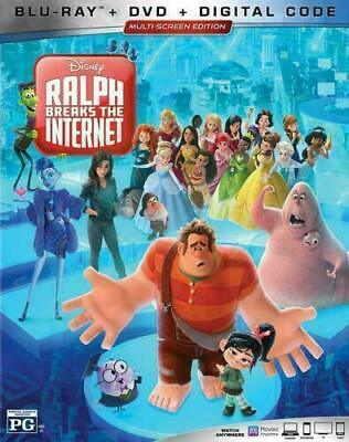 NEW - Ralph Breaks the Internet Blu-ray - DVD - Digital with Slipcover