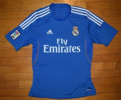 Adidas Real Madrid Jersey 2013-2014 Blue - Small