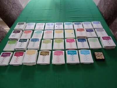 STAMPIN UP INK PADS – RETIRED COLORS - YOU CHOOSE