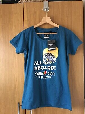 Eurovision 2018 Portugal All Aboard T Shirt