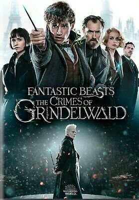 Fantastic Beasts The Crimes of Grindelwald DVD 2019