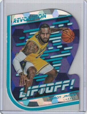 LEBRON JAMES 201819 REVOLUTION LIFTOFF CUBIC PARALLEL LAKERS VERY RARE 3450
