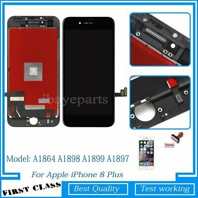 For iPhone 8 Plus LCD Display Screen Touch Digitizer Replacement Black