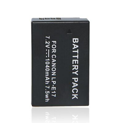 NEW LP-E17 Battery for Canon EOS 77D 750D 760D 800D M6 M5 M3 T7i T6i T6s Rebel