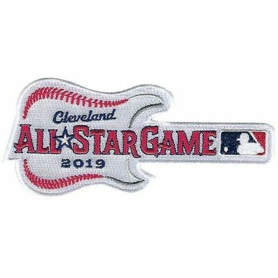 2019 ALL STAR GAME PATCH Cleveland MLB Baseball Embroidered Guitar FREE SHIPPING