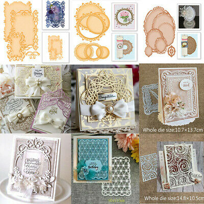 Metal Cutting Dies Stencil Scrapbook Embossing Decor Card Mold Album Paper Craft