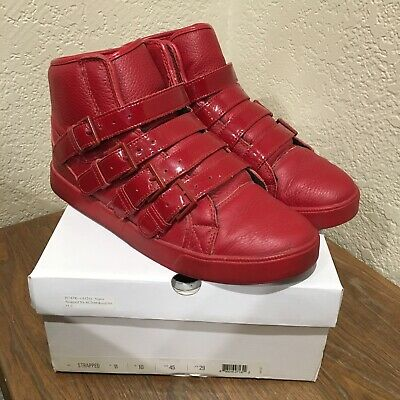 Supra Strapped All Red- Sz 11 Terry Kennedy Straps