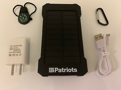 Patriot Power Cell USB Solar Charger  4Patriots  Brand