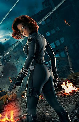 The Avengers Black Widow - Scarlett Johansson Promo Poster 24x36 v1 NEW