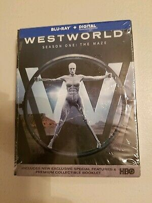 New - Westworld The Complete First Season Blu-ray Disc 2017