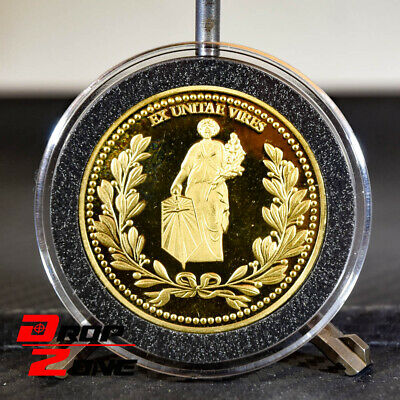 John Wick Continental Hotel Gold Coin Replica OFFICIAL Movie ACCURATE Prop