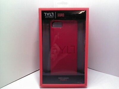 Tylt IP5SSSQRDBL-T SQRD Protective Case for iPhone 5 - Retail Packaging - Red