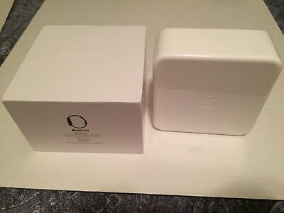 White BOX from 42mm Black Sport Band Apple Watch - BOX ONLY No Watch