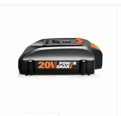 WORX WA3575 20V MaxLithium Poweshare Battery for Trimmer Hedge Trimmer Blower