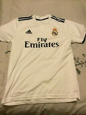 Real Madrid 2018-2019 Home Jersey Large
