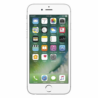 Apple iPhone 6S 128GB GSM Unlocked Silver - Excellent