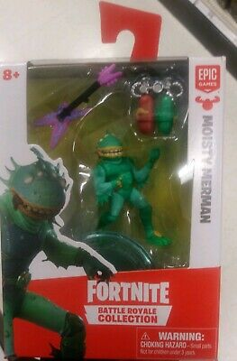 🔥FORTNITE BATTLE ROYALE COLLECTION MOISTY MERMAN 2 Figure 2019