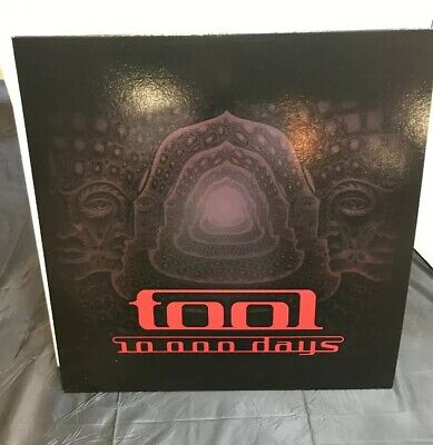 TOOL 10000 DAYS-DOUBLE VINYL LP NM 10000 DAYS RED VINYL