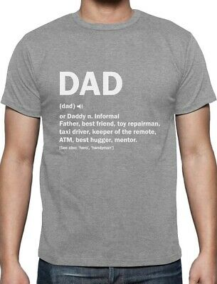 Dad Definition Funny Fathers Day Gift T-Shirt Father Clothing