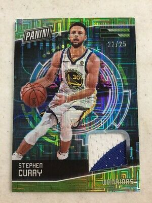 2018 Panini Cyber Monday Stephen Curry 2225 Prime Patch Card Warriors RARE