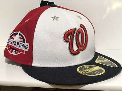 Washington Nationals All Star Game New Era Hat 59fifty 7 12 Baseball Cap Fitted
