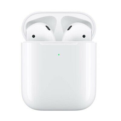 AirPods with Wireless Charging Case 2nd Generation Bluetooth Earphones Earbuds