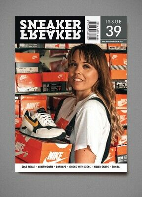 Sneaker Freaker Magazine Issue 39 LIMITED COPIES SNEAKER FREAKER MAGAZINE 39