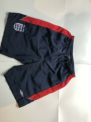 Umbro England Navy Blue Soccer Shorts Size L L World Cup