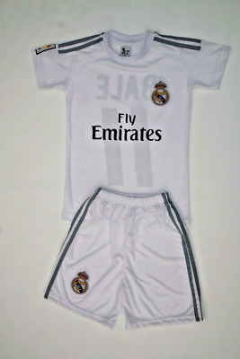 Real Madrid Gareth Bale11 Home Soccer Jersey - Shorts Youth Sizes