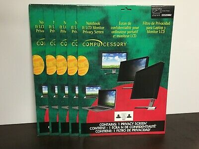5-CT Compucessory Notebook Privacy Filter for 14-1 Widescreen CCS20662