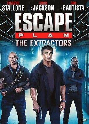 ESCAPE PLAN 3 THE EXTRACTORS DVD NEWSEALED FREE SHIP SYLVESTER STALLONE